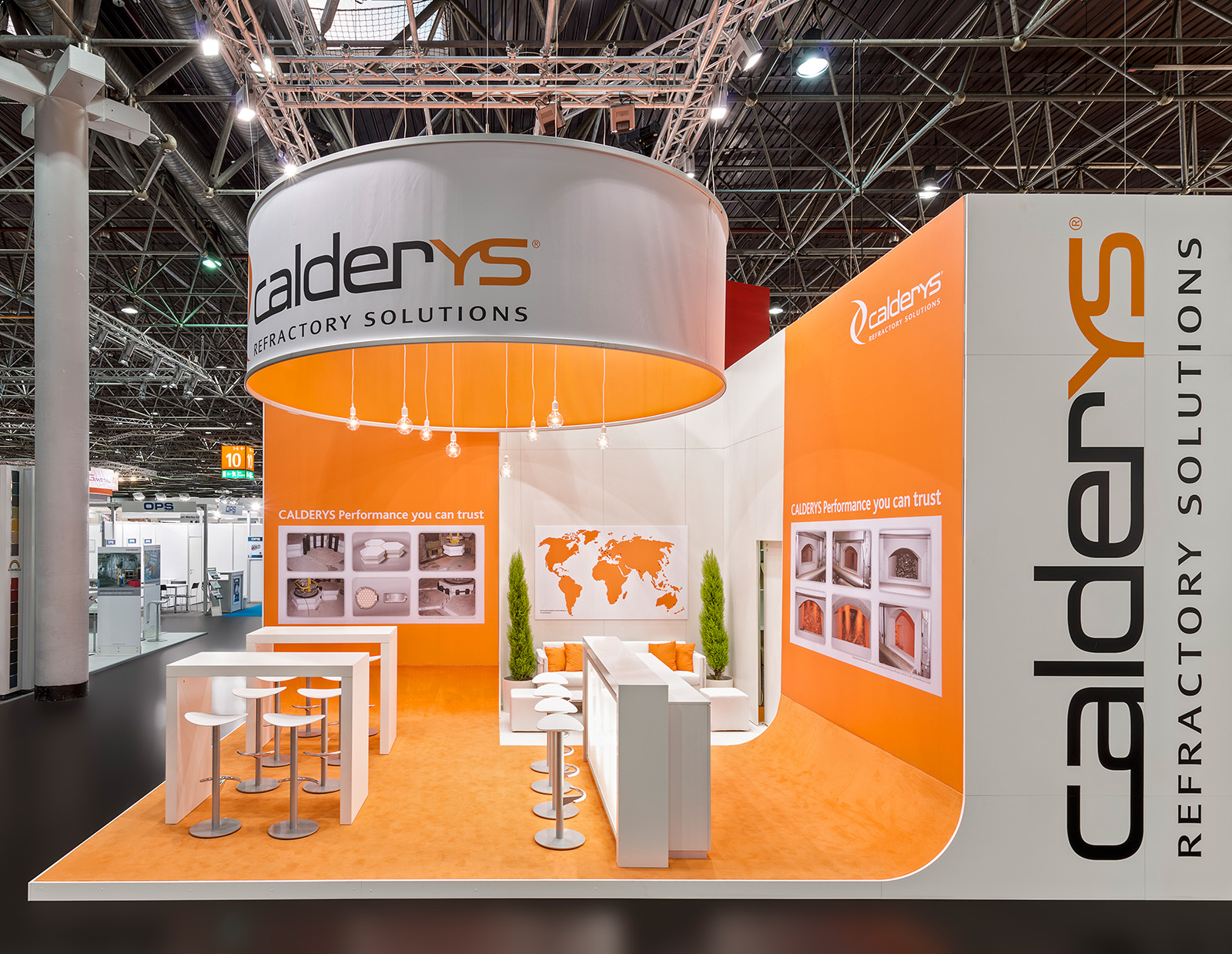 Calderys  Messestand